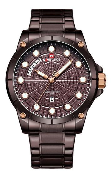 Relógio Masculino Naviforce 9152 Esporte Lançamento Original