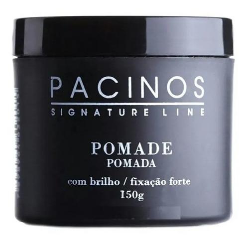 Imagem 1 de 3 de Pomada Brilho Fixação Forte 150g - Pacinos Signature Line