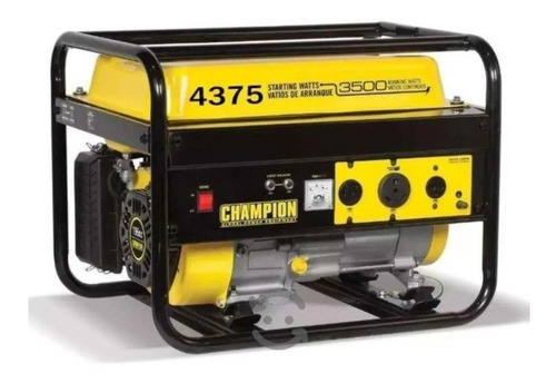 Imagen 1 de 2 de Generador Planta De Luz 4375 W/3500 W Marca Champion