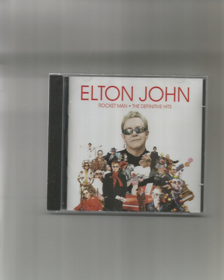 Cd Elton John - The Definitive Hits (novo-lacrado)