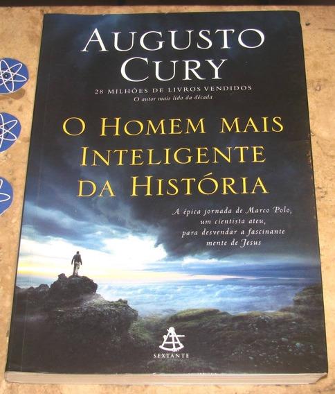 Livro Homem Mais Inteligente Historia - Augusto Cury (2016)