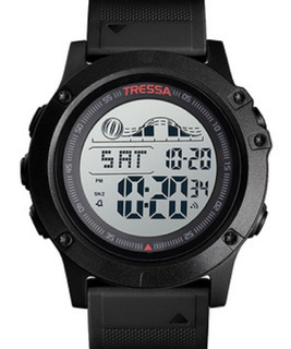Reloj Tressa Digital Sumergible Militar Con Luz Garantia Of!