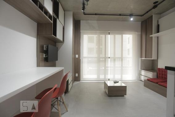 Apartamento Para Aluguel - Santa Cecília, 1 Quarto, 28 - 892987712