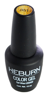 Heburn Esmalte Gel On Off Semipermanente Uñas Manicuría