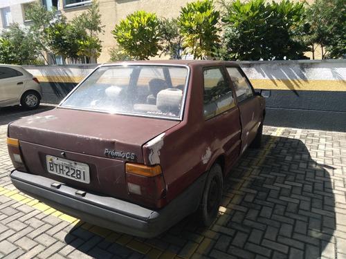 Fiat Premio Cs 1.5 A Álcool Ano 1986