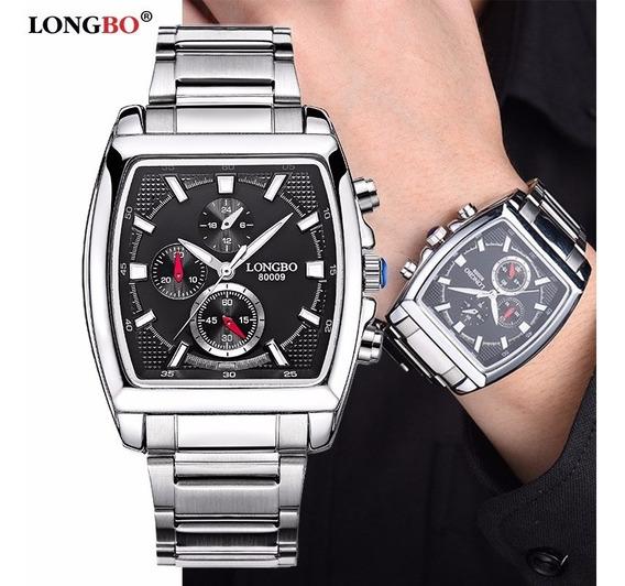 Relógio Longbo E Fr Masculino Compre 1 E Leve 2 Loucura