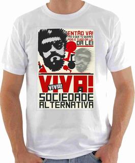 Camiseta Raul Seixas Rock Sociedade Alternativa