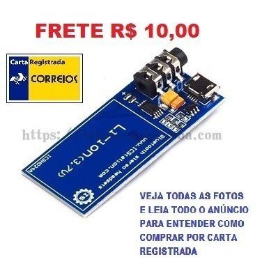 Adaptador Shield Bluetooth Arduino Xs3868 Ovc Frete R$ 10,00
