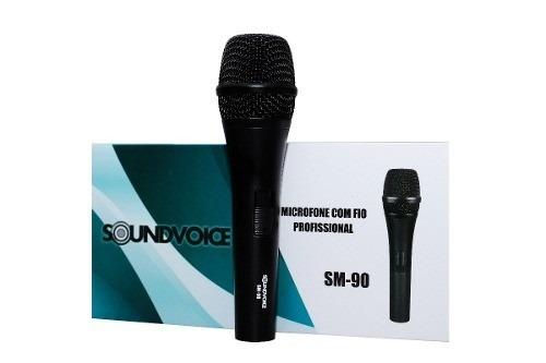 Microfone Com Fio Soundvoice Sm-90