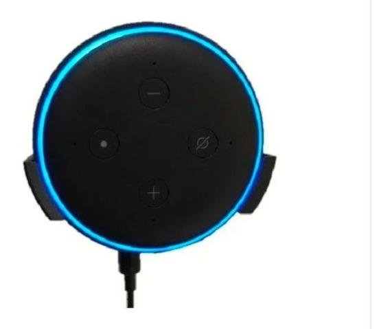 Suporte De Parede Para Alexa Echo Dot 3 Geração + Parafuso