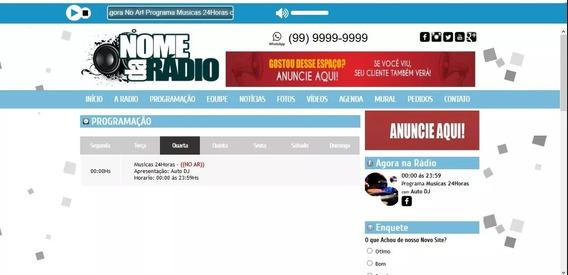 Script Web Rádio Php