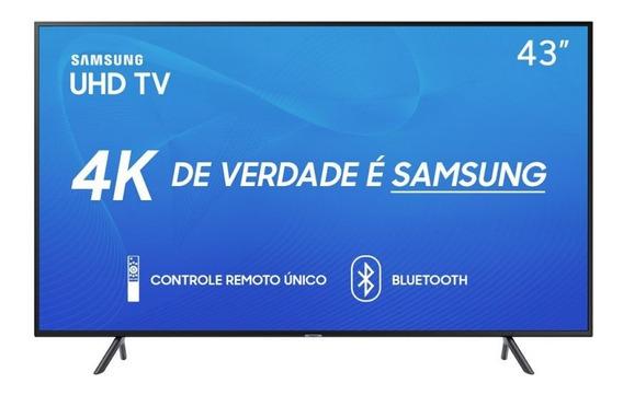 Smart Tv Samsung 43 Uhd 4k 2019 Un43ru7100gxzd Visual Livre