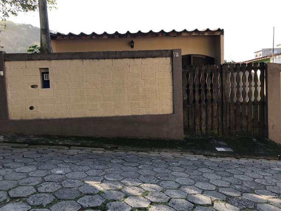 Casa Com 3 Dorms, Praia Do Sonho, Itanhaém - R$ 600.000,00, 120m² - Codigo: 452 - A452