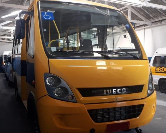 Micro Ônibus Neobus City Iveco 70c17 30 Lugares Escolar 2013