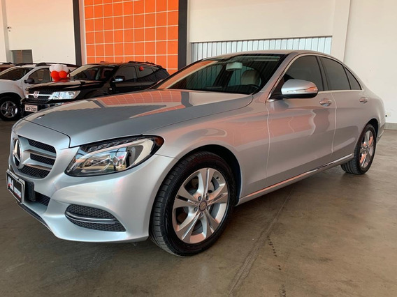 Mercedes-benz Classe C 180 2015 1.6 Avantgarde Turbo 5p