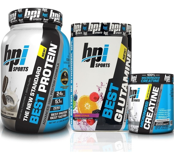 Combo Crossfit Bpi Best Protein + Creatina + Glutamina