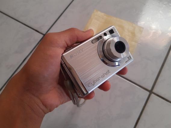 Câmera Digital Sony Cyber-shot Dsc-w80