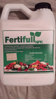 Fertilizante Foliar Potencializador + Proteínas De Pescado