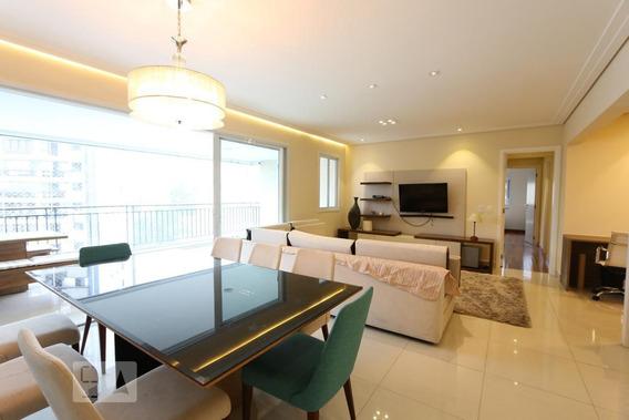 Apartamento No 9º Andar Mobiliado Com 3 Dormitórios E 4 Garagens - Id: 892959014 - 259014