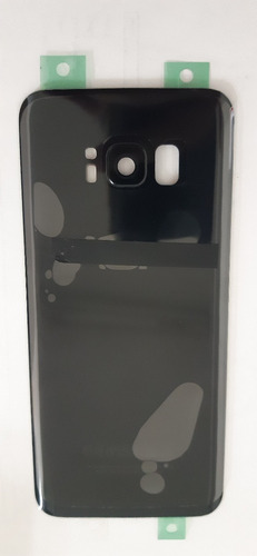Tampa Traseira Samsung S8 G950 C-lente Preta Nova Vidro