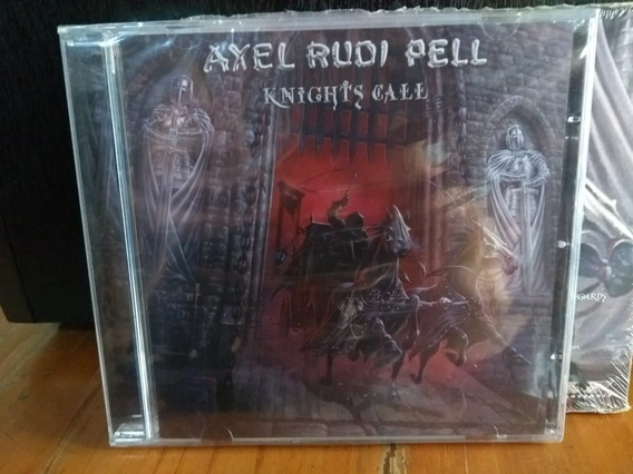 Axel Rudi Pell - Knights Call Cd 2018 Importado Spv Alemania