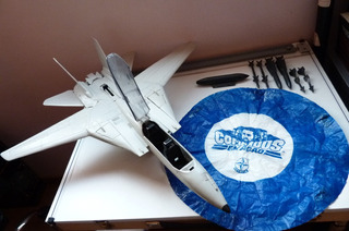 Comandos Ação F-14 Superjato Estrela Avião Gijoe Paraquedas