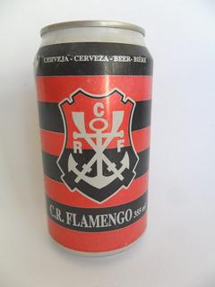 Lata Vazia Latinha Cerveja Clube Flamengo 1996