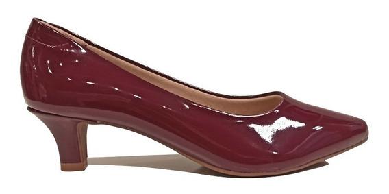 Zapatos Stilettos Mujer Charol Taco 6 Cm Hot Rimini