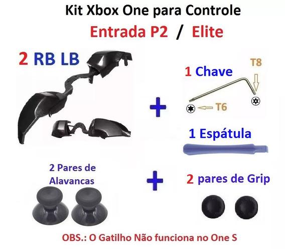 Kit Peças Xbox One P2/elite Em 2 Controles - Frete R$ 14,80