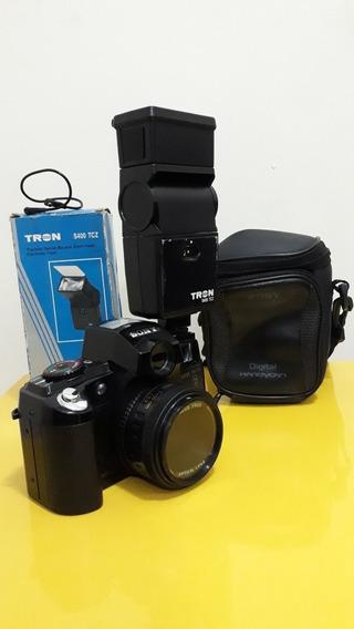 Câmera Fotográfica Antiga Sony Analógica