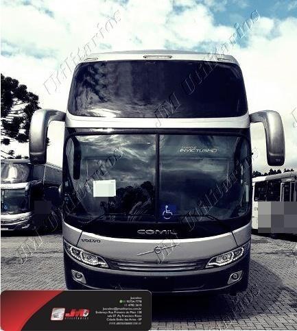 Imagem 1 de 15 de Comil Campione Invictus Ano 2021  Volvo B420 R Jm Cod.64