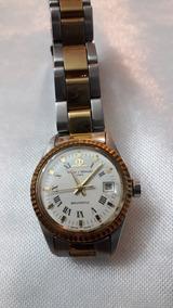 Relógio Baume & Mercier Aço E Ouro Feminino