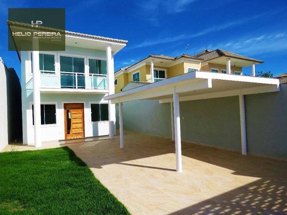 Casa Em Itaipuaçu Com 3 Quartos, Sendo 2 Suítes E Churrasqueira - Ca0277