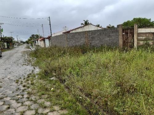 Terreno De Esquina Murado E Aterrado - Itanhaém 6574 - Npc