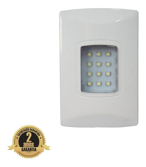 Luminária Emergência Led Embutir 4x2 100 Lumens Imbatível C1