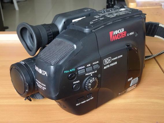 Filmadora Minolta C-550 - Usada