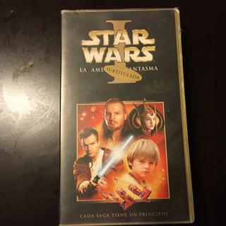 Vhs Star Wars La Amenaza Fantasma Subtitulada
