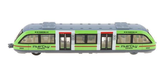 Juguete De Transporte De Tren Ligero De Ciudad De Aleación