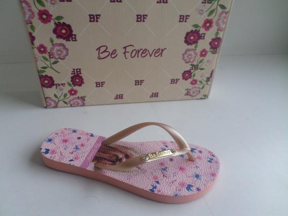 Sandália Adulto Be Forever York Flowers