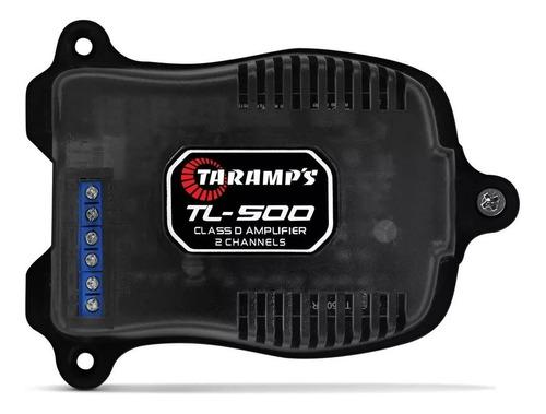 Imagem 1 de 6 de Modulo Amplificador Taramps Tl500 100w Rms 2 Canais Potencia