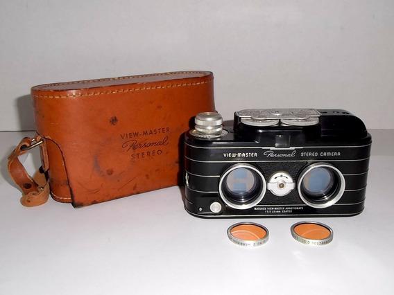 Antigua Cámara View Master Personal Stereo Usa 1952