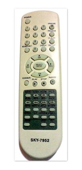 Controle Dvd Semp Toshiba 3070 Sd7061slx Sd706 Kit Com 2 Pç