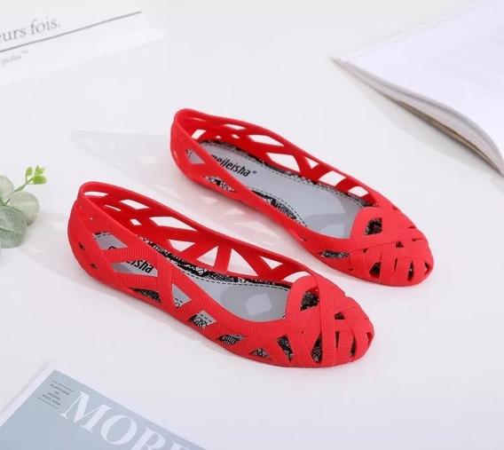 Zapatos Flats Mujer Melissa Jason Wu 22.5 A 25 Cm 4 Colores
