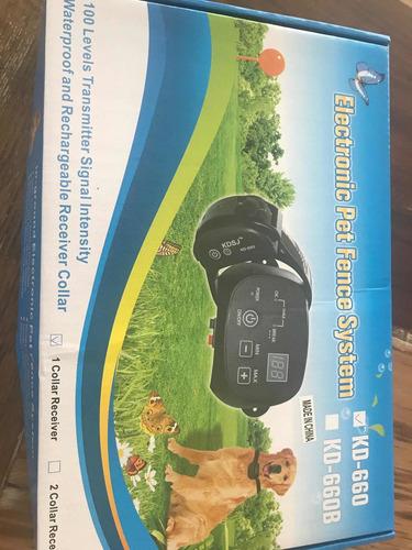 Cerco Invisible Perro Eléctrico Digital Collar Recargable !!