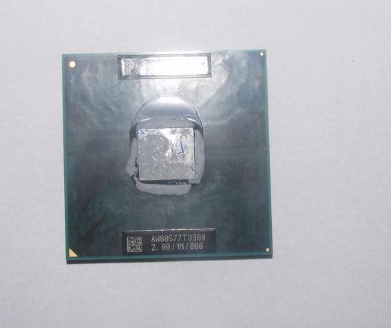 Processador Intel Dual Core 2.0/1m/800 Aw80577t3300 478