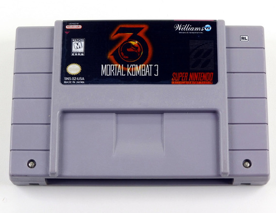 Mortal Kombat 3 Original Super Nintendo Snes