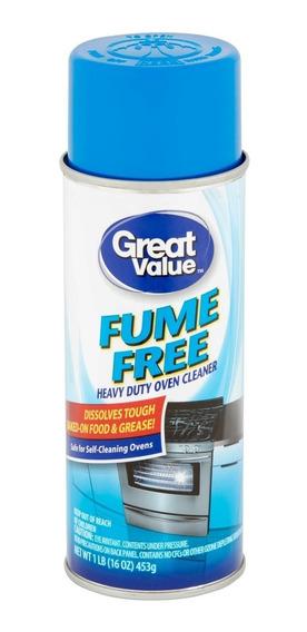 Great Value Heavy Duty Limpa Forno Churrasqueira Spray 453g
