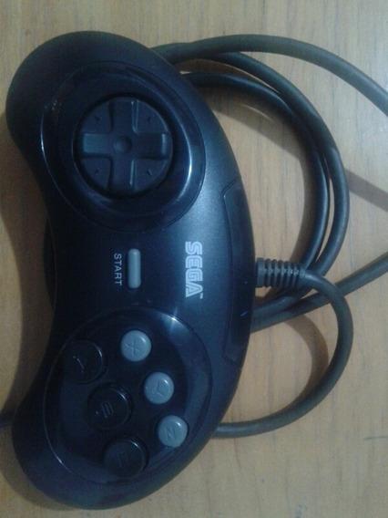 Controle 6 Botões Sega Gênesis Em Estado De Novo