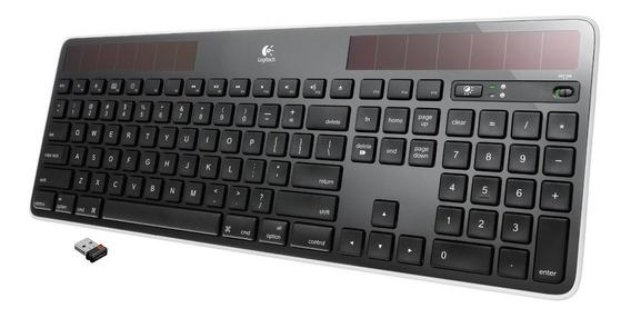 Teclado Wireless Solar Keyboard K750 Windows Logitech
