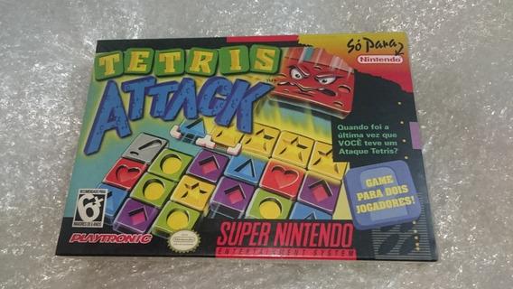 Tetris Attack Playtronic Snes Lacrado Rara